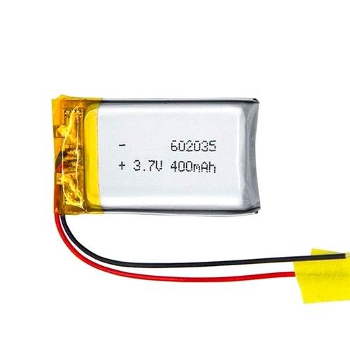 Акумулятор 602035 Li-pol 3.7 В 400мАч для RC моделей DVR GPS MP3 MP4