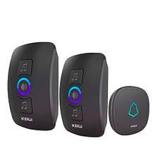 Беспроводной дверной звонок и 2 приемника 433МГц KERUI M525 сигнализация