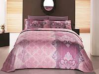 Комплект постельного белья 160х220 сатин Gokay Embro розовый