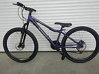 Горный подростковый велосипед Azimut Forest 24 синий 85% собран.в коробке + ПОДАРОК!!!