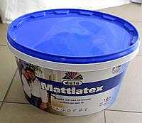 Краска латексная стойкая к мытью Mattlatex D 100 Dufa (10 л), фото 1