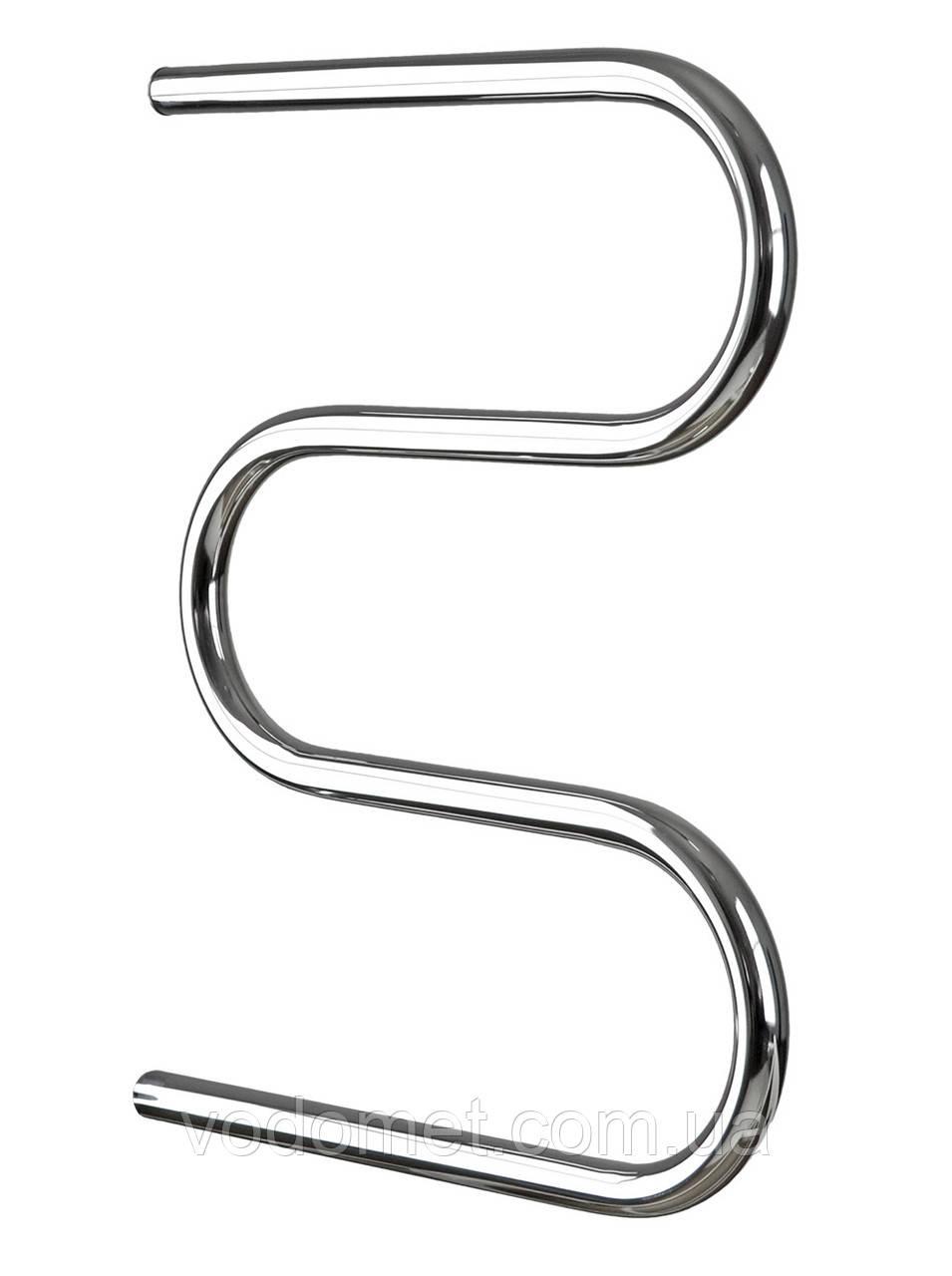 Водяной полотенцесушитель Змейка ∅25 525x400/500