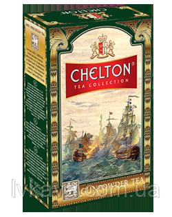 Чай  зеленый  Gunpowder  tea Chelton, 100 гр