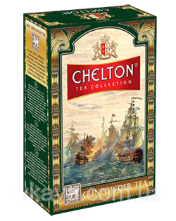 Чай  зеленый  Gunpowder  tea Chelton, 100 гр, фото 2