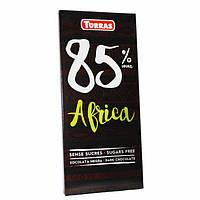 Шоколад без сахара Torras Africa 85% 100г Испания