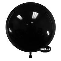 """Шары """"Bubbles"""".Цвет: Чёрный. Размер:18"""" (45см). Пр-во:Китай"""