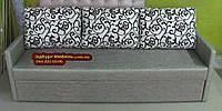 Диван еврокнижка на пружинном блоке ткань антикоготь, фото 1