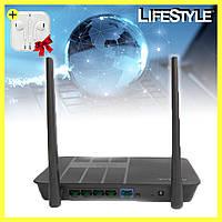 Маршрутизатор Wi-Fi роутер NK LINK NK-22 300М + наушники в подарок!