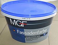 Фасадная латексная краска для внешних и внутренних работ Fassadenfarbe MGF (7 кг)