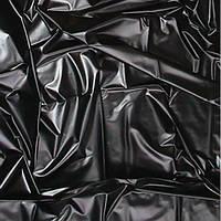Черная латексная простынь - Sheet in Latex SexMax WetGames 180X220