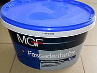 Фасадная латексная краска для внешних и внутренних работ Fassadenfarbe MGF (14 кг)