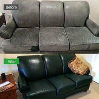 IDech. Жидкая кожа. Кожа. для ремонта кожаных и др. изделий, для сидений, руля мебели царапины 50 мл