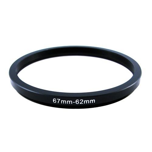 Понижающее степ кольцо 67-62мм для Canon, Nikon
