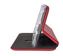 Кожаный чехол-книжка  Xiaomi Redmi 8 / 8A – Красный, фото 3