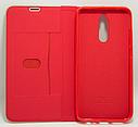 Кожаный чехол-книжка  Xiaomi Redmi 8 / 8A – Красный, фото 2