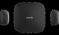 Інтелектуальна централь Ajax Hub. GSM + Ethernet. 99 датчикiв, 9 груп, фото 1