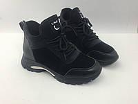 Кожаные кроссовки женские тм Lonza 36 о