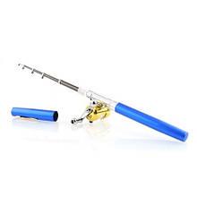 Складная походная мини-удочка и катушка, ручка