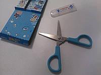Ножницы детские голубые