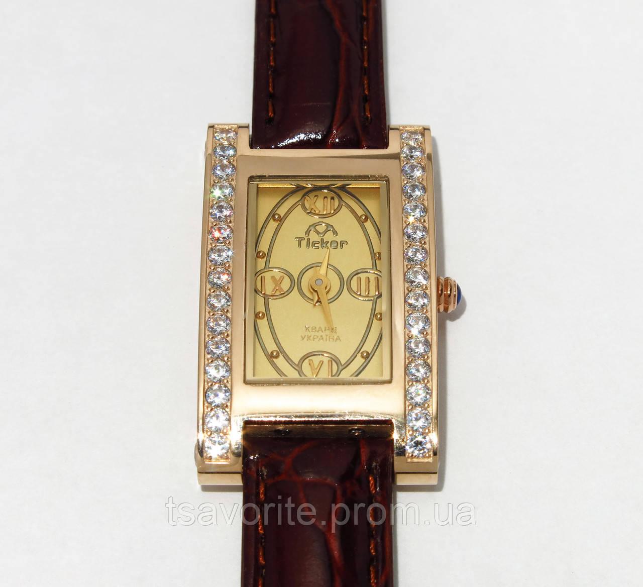 Женские золотые часы Харьковская ювелирная фабрика 39005