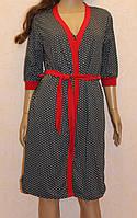 Комплект халат и ночная рубашка женская 44-46 Полномер