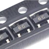 Чип BC817-40 BC817 6C, SOT23 транзистор биполярный NPN
