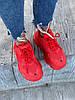 Женские Кроссовки Balenciaga Triple S Clear Sole Red Красные, фото 5