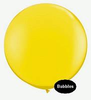 """Шары """"Bubbles"""".Цвет: Жёлтый. Размер:18"""" (45см). Пр-во:Китай"""