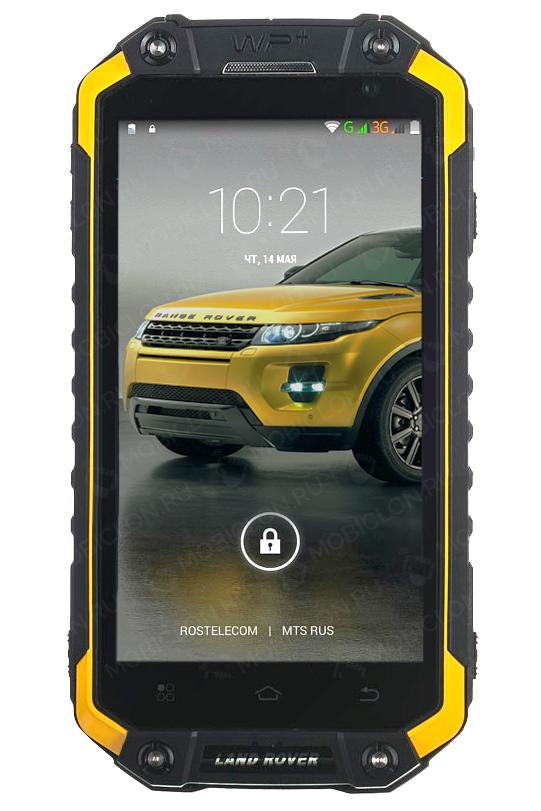 Защищенный мобильный телефон Land Rover X8G на 2 сим с NFC