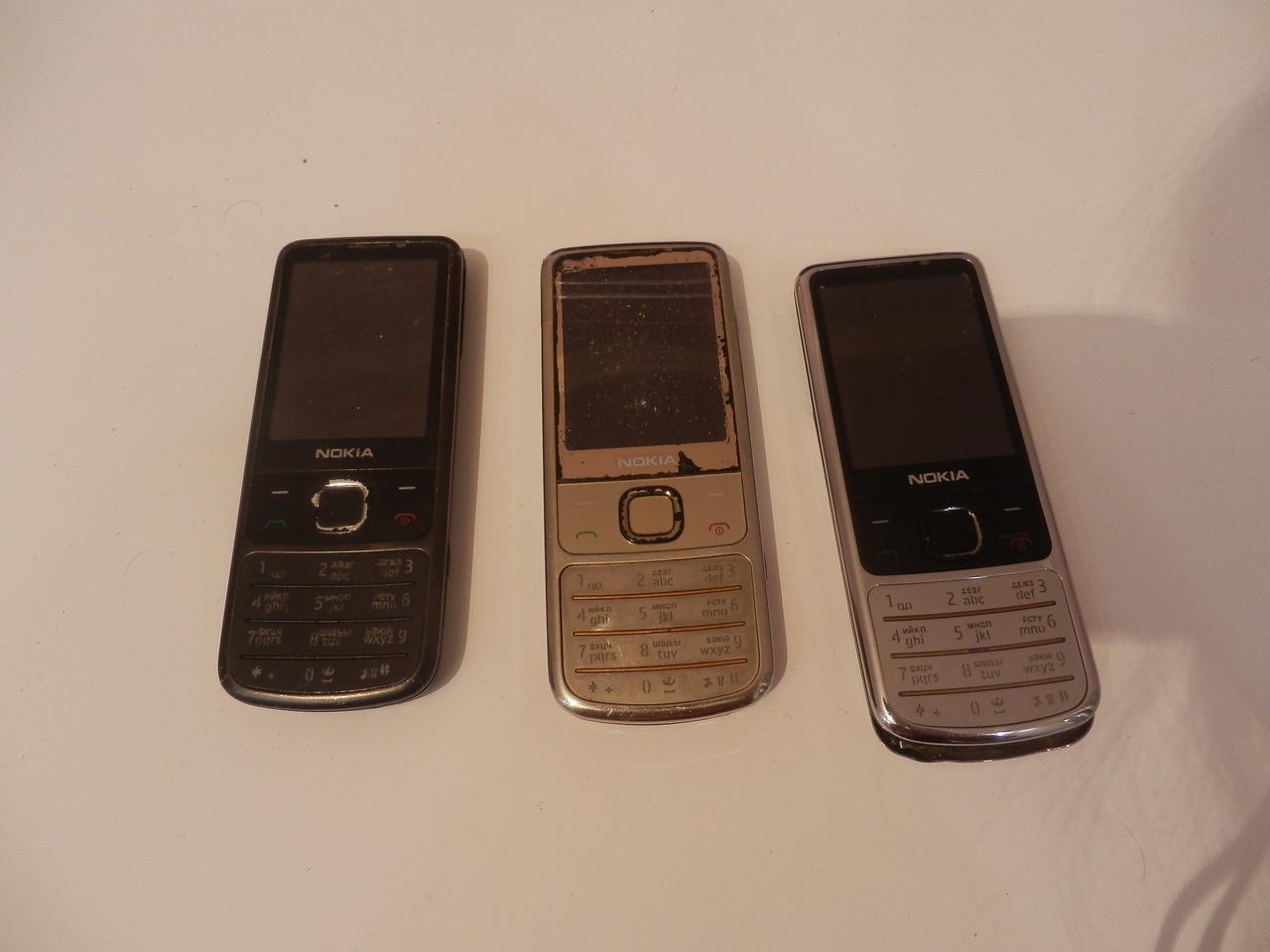 Мобильный телефон Nokia 6700 (3 штуки) №7322