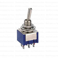 Тумблер MTS-202 (ON-ON), 6pin, 3A 250VAC