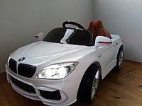 Детский электромобиль BMW 7 series Кожаное сиденье, EVA резина, Амортизаторы, дитячий електромобіль