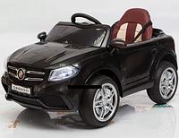 Детский электромобиль Джип Mercedes OOO, Кожаное сиденье, EVA резина, Амортизаторы, дитячий електромобіль черный
