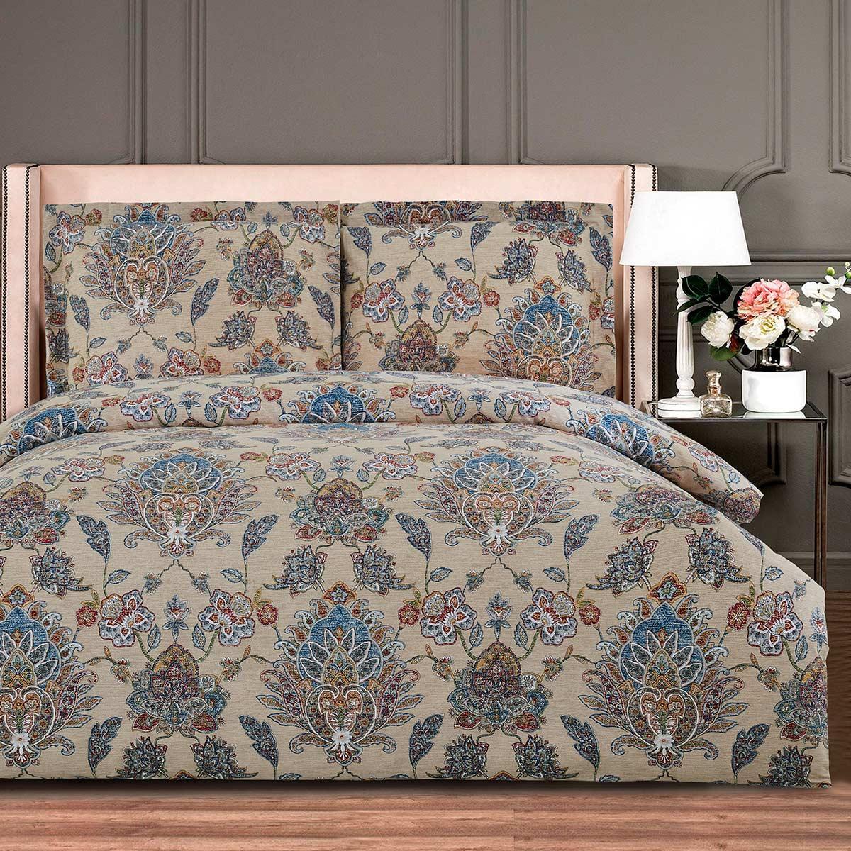 Комплект постельного белья 200х220 см Сатин Anisa Simple Living Arya AR-TR1005632