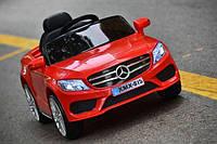 Детский электромобиль Mercedes_XMX815, Кожаное сиденье, EVA-резина, Амортизаторы, дитячий електромобіль красный