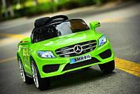 Детский электромобиль Mercedes_XMX815, Кожаное сиденье, EVA-резина, Амортизаторы, дитячий електромобіль зеленый