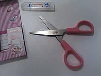 Ножницы детские розовые