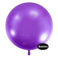 """Шары """"Bubbles"""".Цвет: Фиолетовый. Размер:22"""" (55см). Пр-во:Китай"""