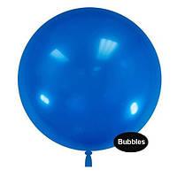 """Шары """"Bubbles"""".Цвет: Синий. Размер:22"""" (55см). Пр-во:Китай"""