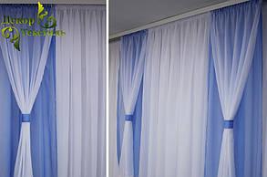 """Готовый комплект штор """"Саванна Лазурь"""", фото 2"""