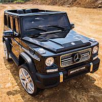 Детский электромобиль Джип M 3567 EBLR-2, Mercedes G65 VIP, черный