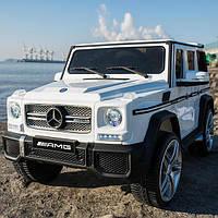 Детский электромобиль Джип M 3567 EBLR-1, Mercedes G65 VIP, белый