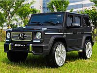 Детский электромобиль Джип M 3567 EBLRM-2, Mercedes G65 VIP, черный матовый