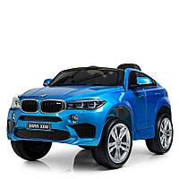 Детский электромобиль Джип JJ 2199 EBLRS-4,BMW X6M, синий лак