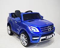 Детский электромобиль M 3568 EBLRS-4, Mercedes ML350, синий лак
