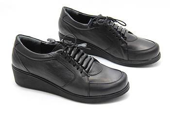 Шкіряні туфлі Туреччина Aras Shoes 98-siyah