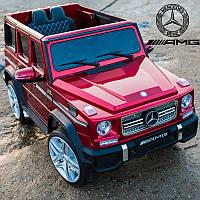 Детский электромобиль Джип M 3567 EBLRS-3, Mercedes Benz G65 VIP, красный лак