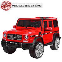 Детский электромобиль Джип M 3567 EBLR-3, Mercedes G65 VIP, красный