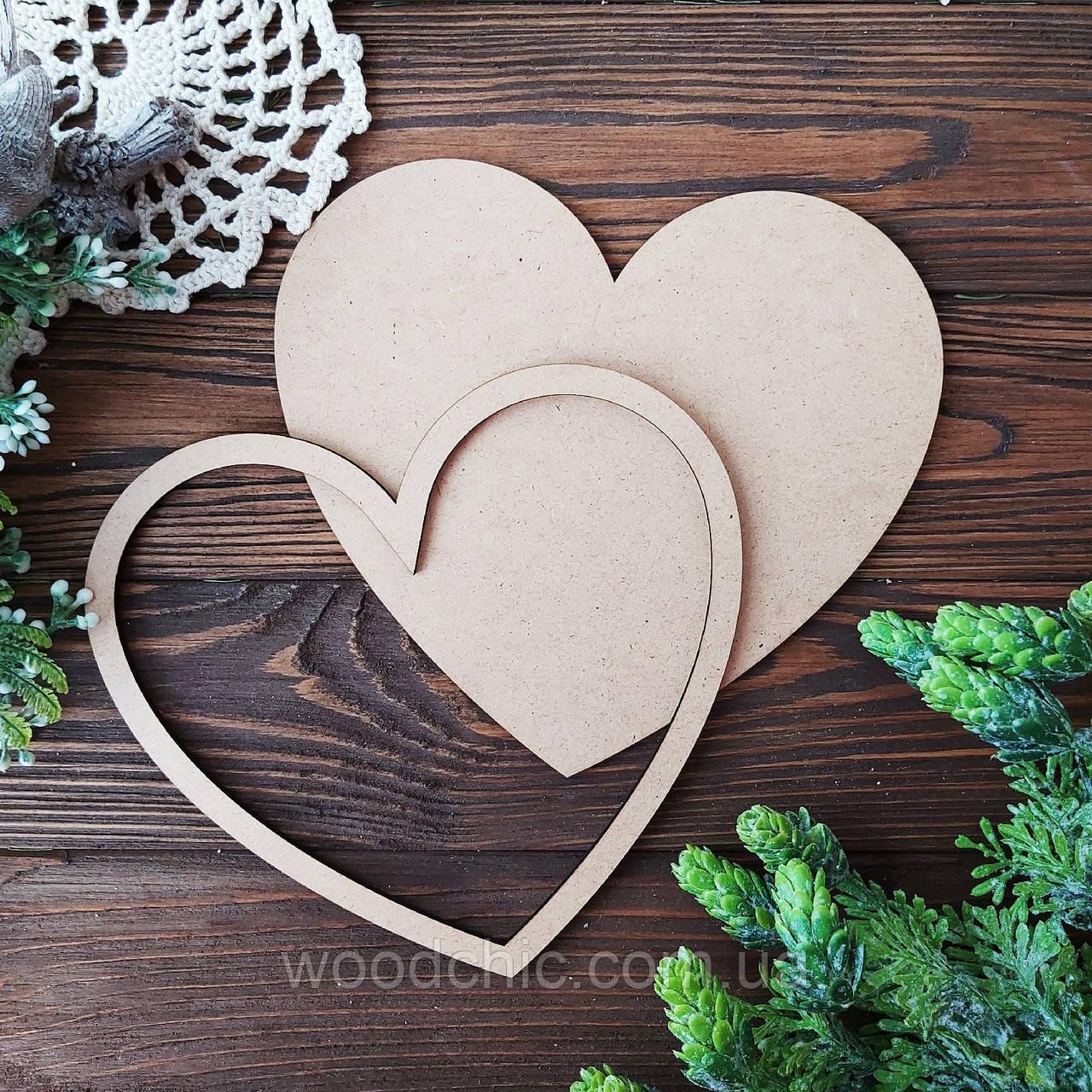 Заготовка  набор Сердце
