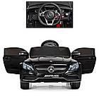 Детский электромобиль Mercedes Benz M 4010EBLR-2 черный, фото 4